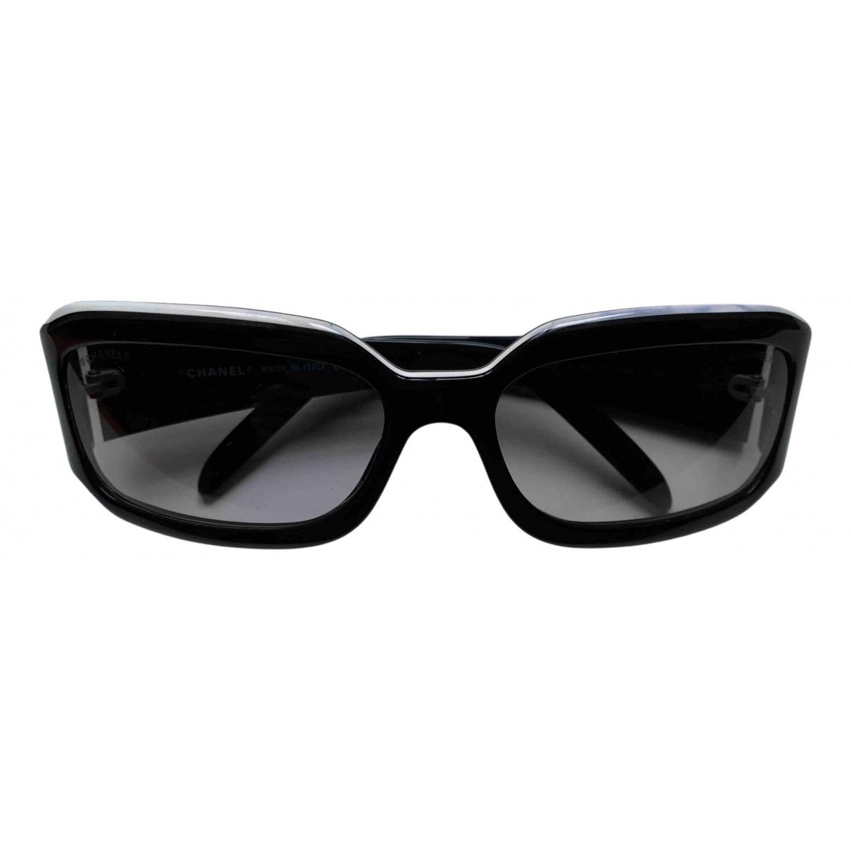 Chanel N Black Sunglasses for Women N