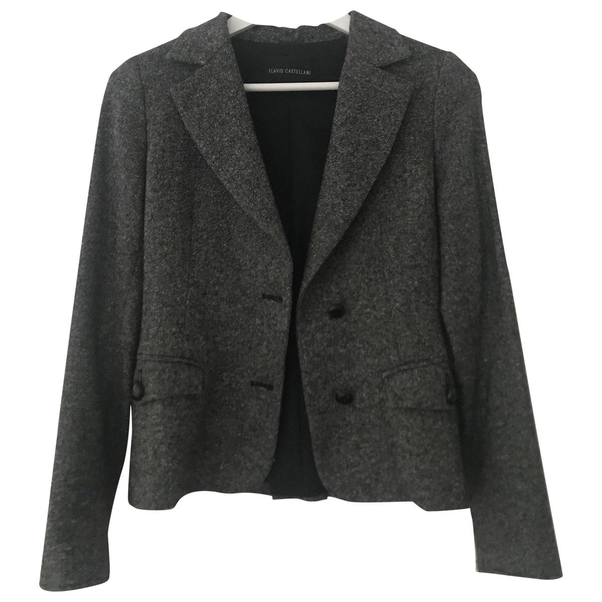 Flavio Castellani \N Multicolour Wool jacket for Women 40 IT
