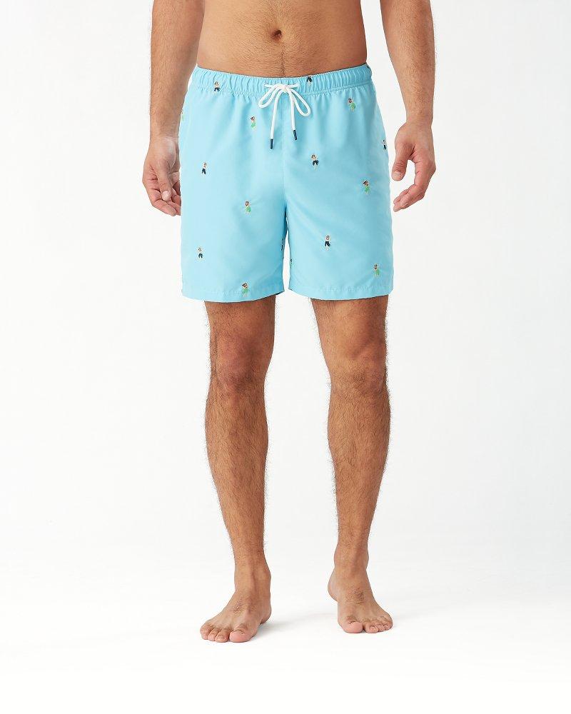Naples Hu-La-La 6-Inch Swim Trunks