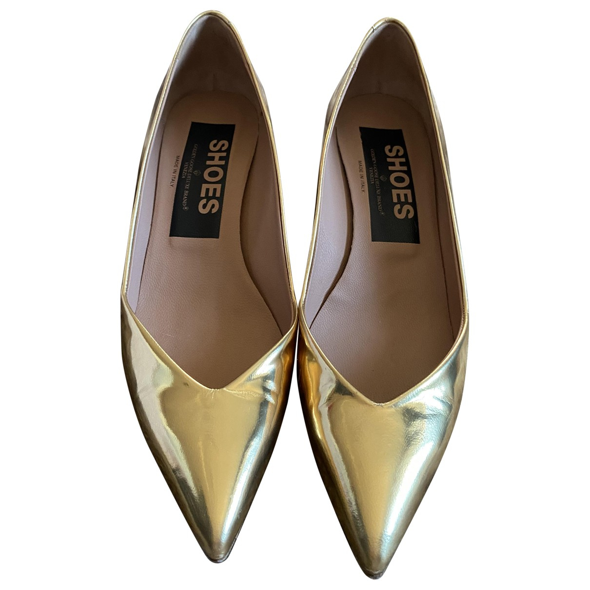 Golden Goose \N Pumps in  Gold Leder
