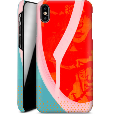 Apple iPhone XS Max Smartphone Huelle - Saturated Wall von Brent Williams