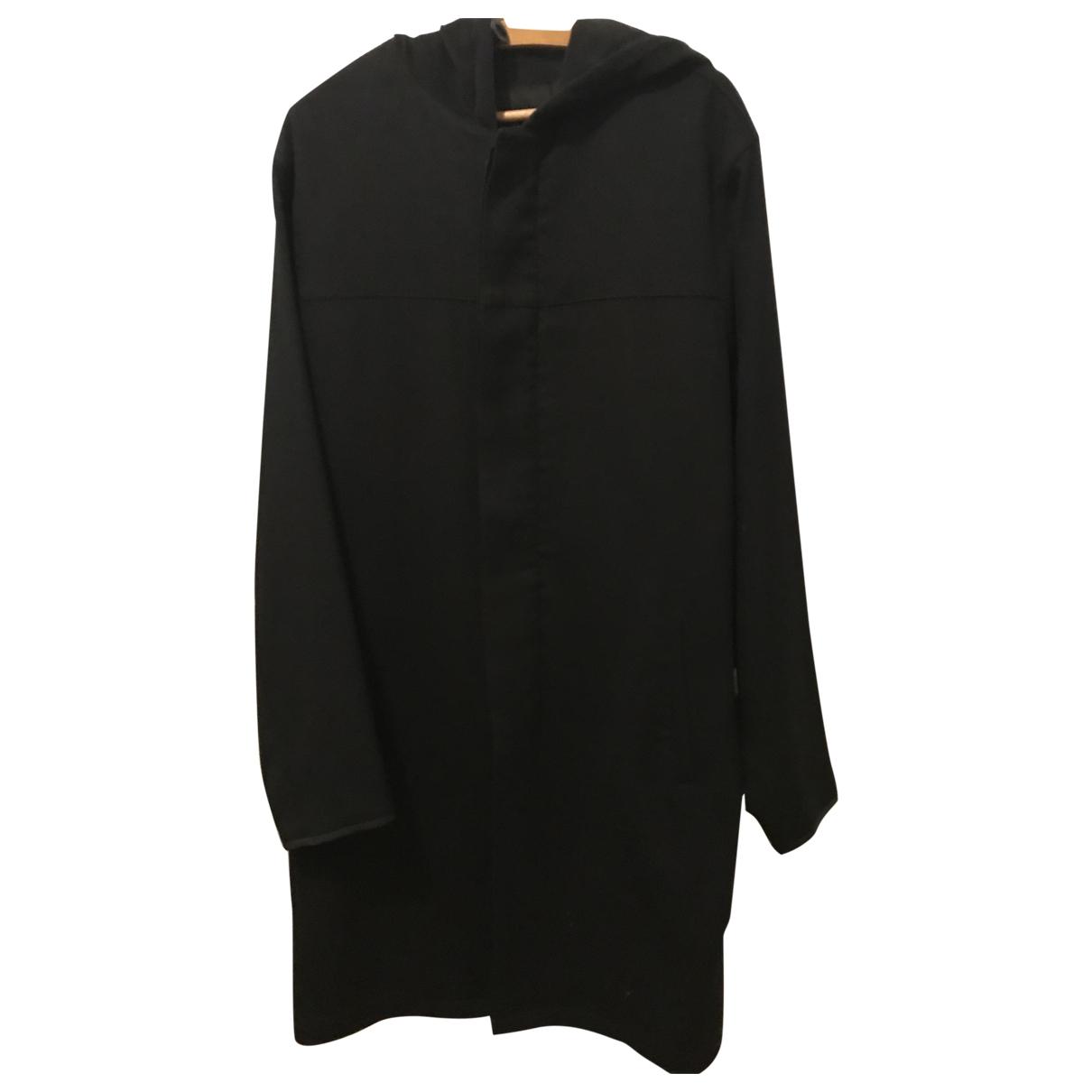 Prada \N Black Wool coat  for Men L International