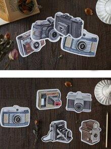 30sheets Camera Shaped Postcard