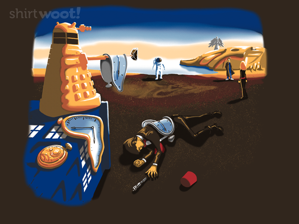 The Persistence Of The Doctor T Shirt