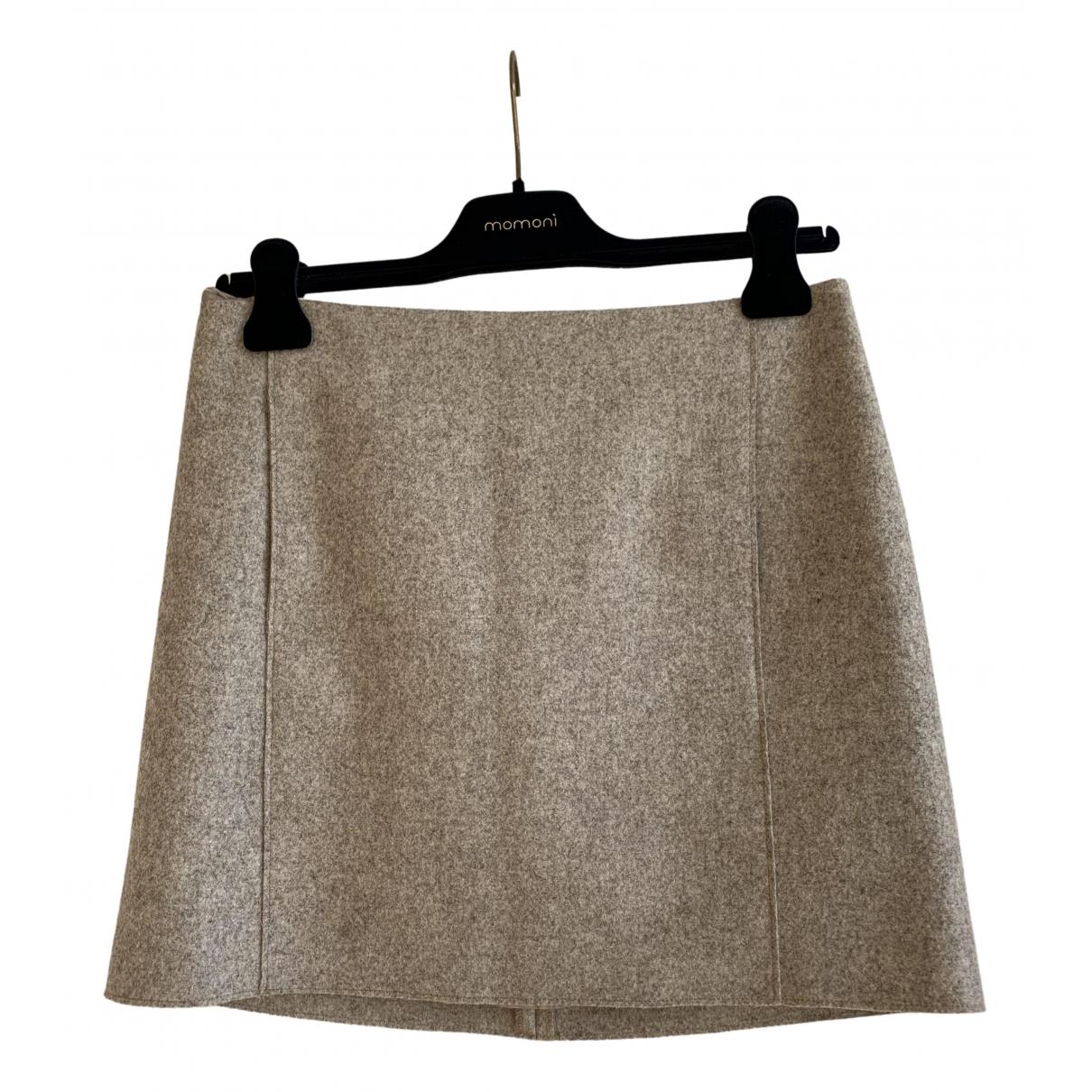 Cos - Jupe   pour femme en laine - beige
