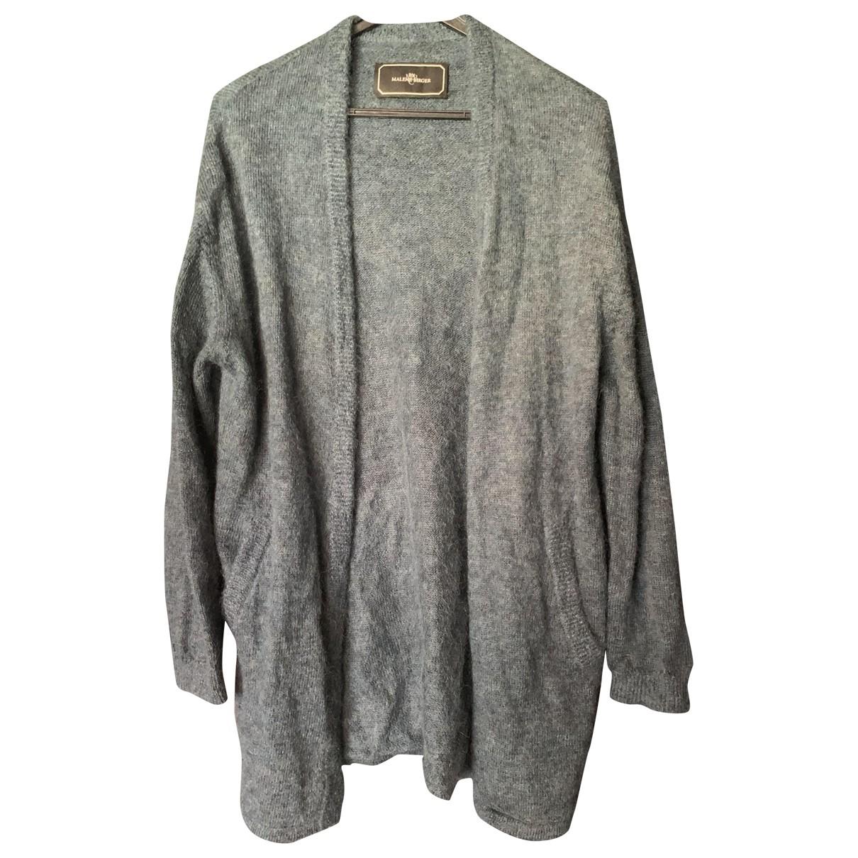 By Malene Birger \N Pullover in  Blau Wolle