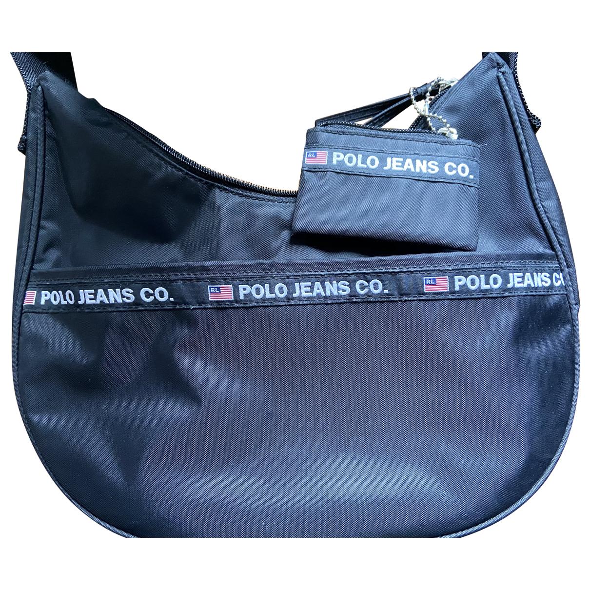 Polo Ralph Lauren \N Handtasche in  Schwarz Polyester