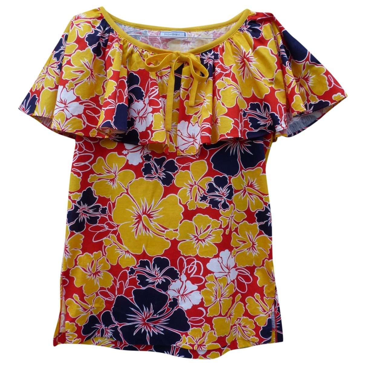 Yves Saint Laurent \N Top in  Bunt Baumwolle