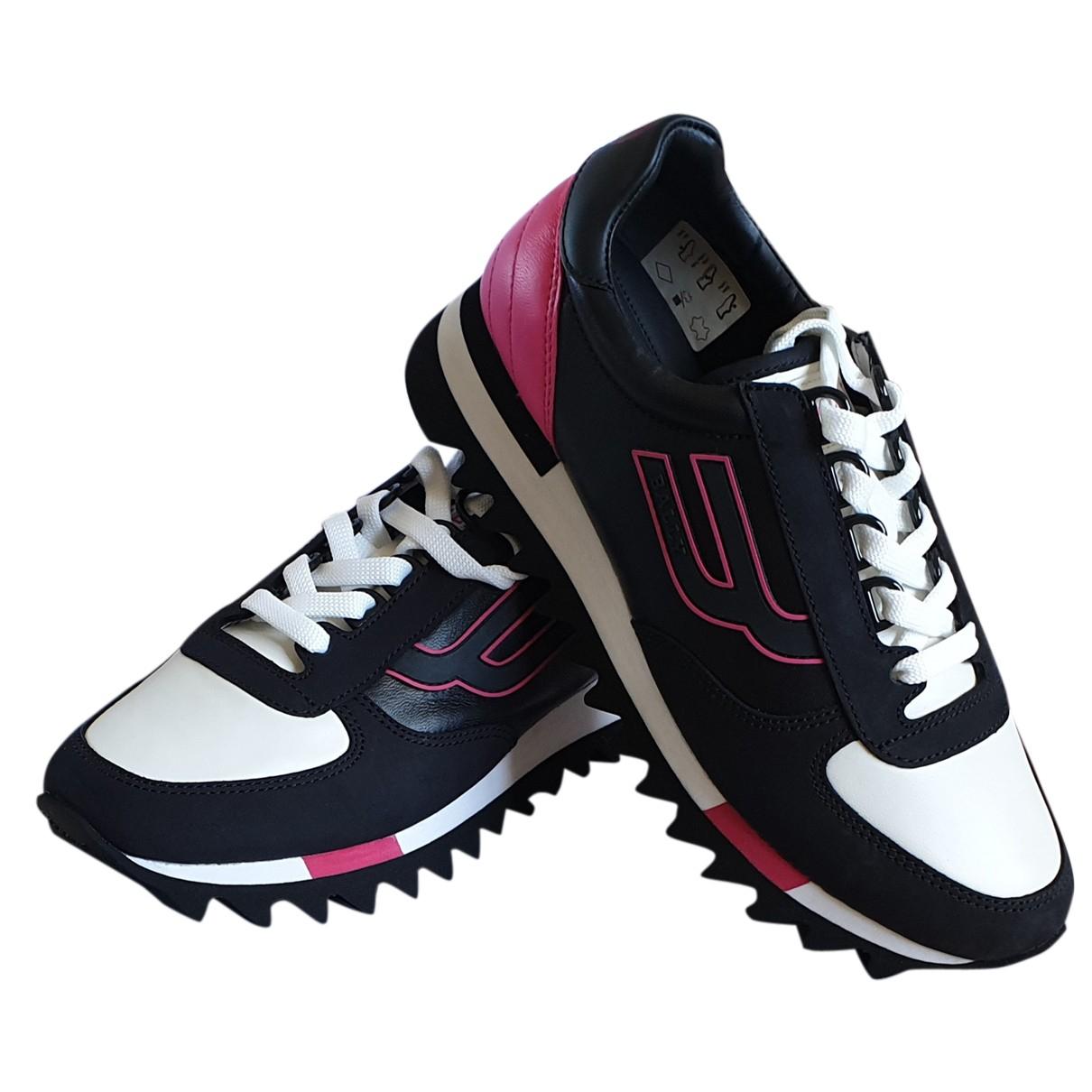 Bally \N Sneakers in  Schwarz Leder