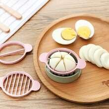1 pieza cortadora de huevo
