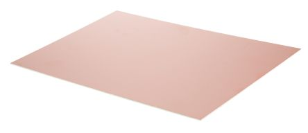 CIF AD20, Single-Sided Plain Copper Ink Resist Board FR4 With 35μm Copper Thick, 200 x 300 x 1.6mm