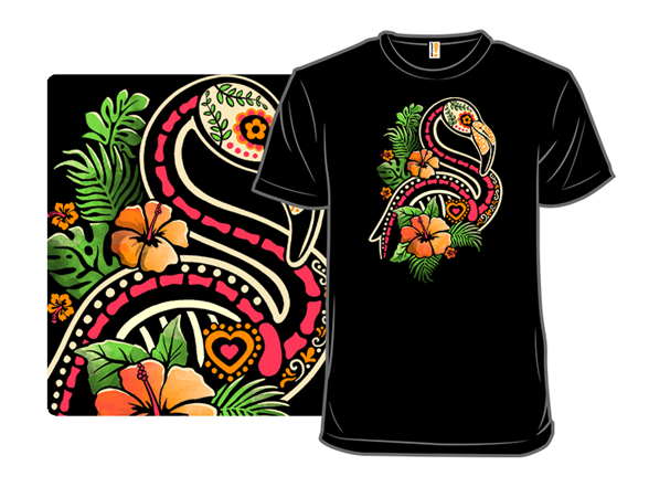Tropical Flamingo T Shirt