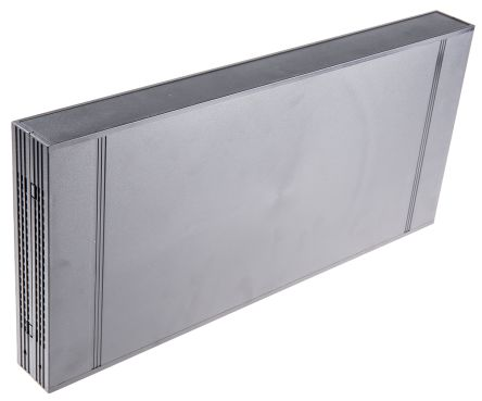 RS PRO , 1U Rack Mount Case Ventilated, 44.2 x 438.15 x 203.2mm, Black