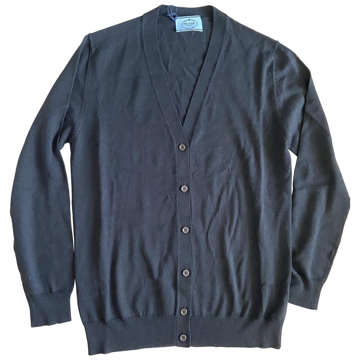Prada \N Pullover in  Schwarz Wolle