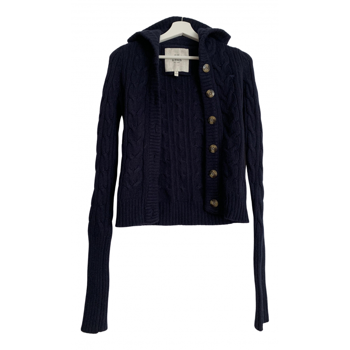 Abercrombie & Fitch \N Navy Wool Knitwear for Women S International