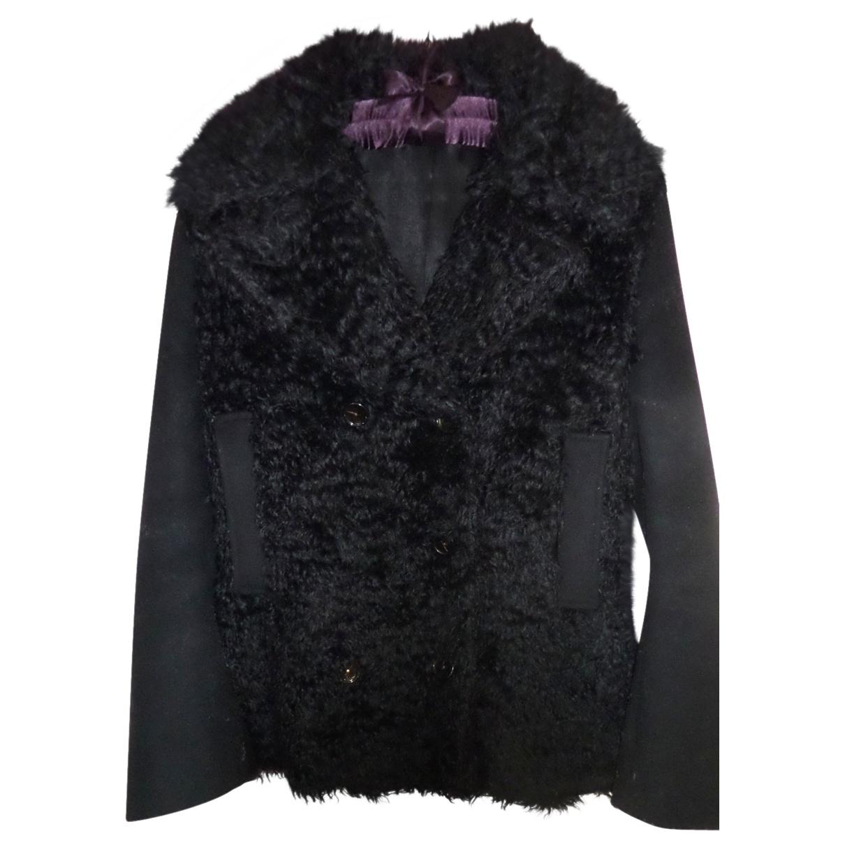 Acne Studios \N Black Wool coat for Women 34 FR