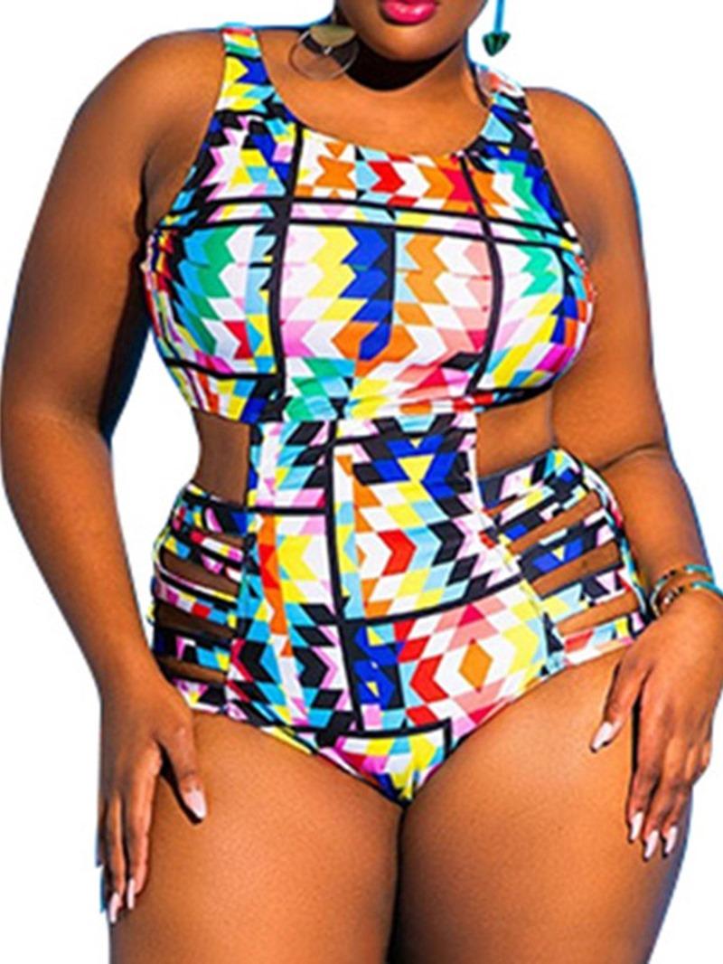 Ericdress One Piece Print Skimpy Swimwear