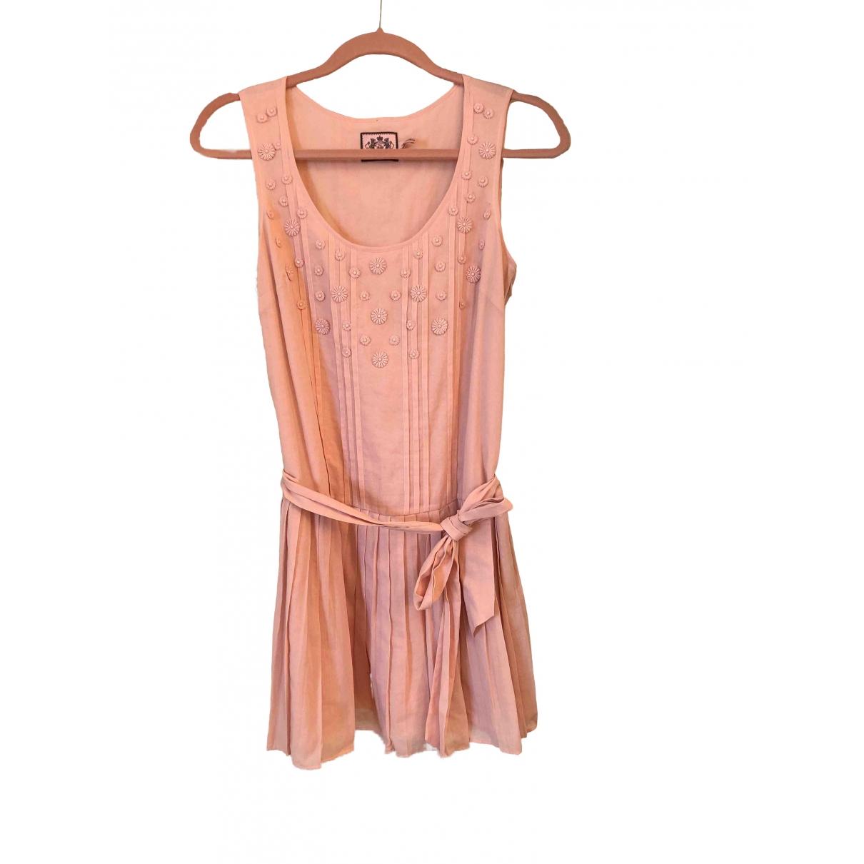Juicy Couture \N Kleid in  Rosa Baumwolle