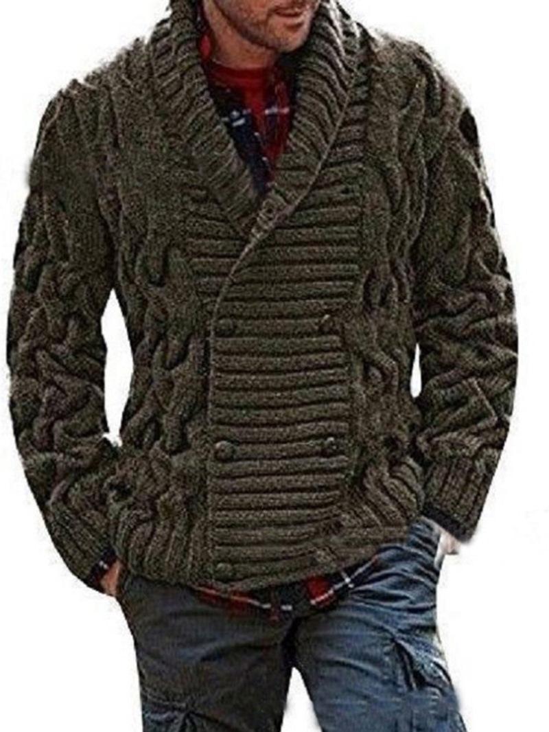 Ericdress Standard Plain European Men's Sweater