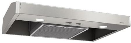 TEN136SS 36 Tenaya 1 Series Under Cabinet Range Hood with 250 CFM  Captur System  Rocker Switches and Mesh Filter in Stainless