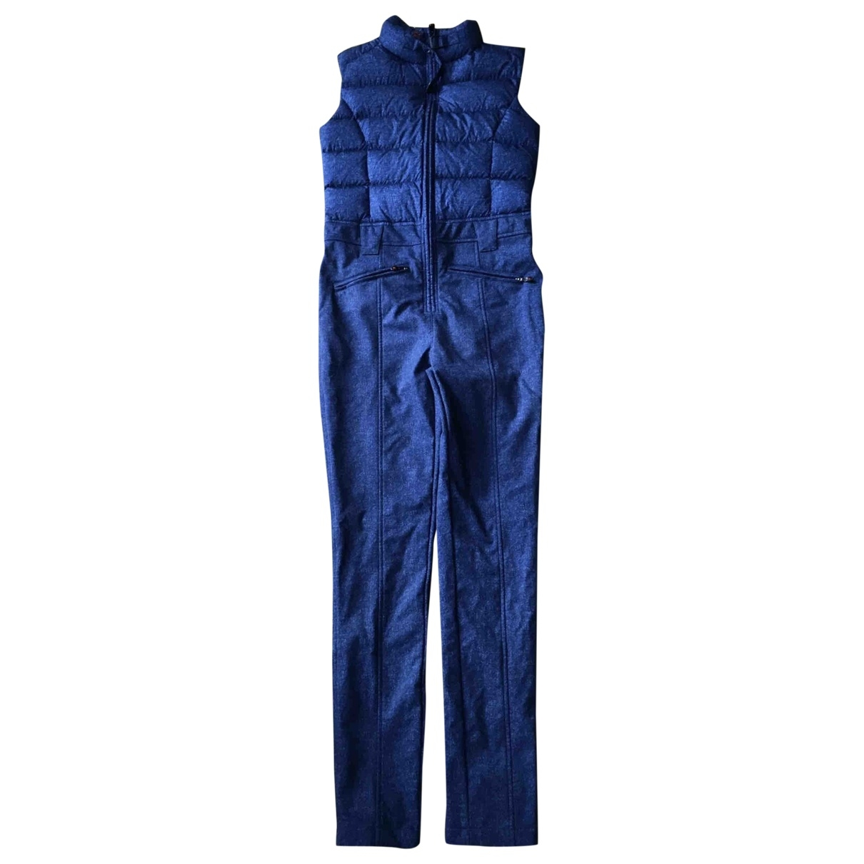 Perfect Moment \N Jumpsuit in  Blau Synthetik