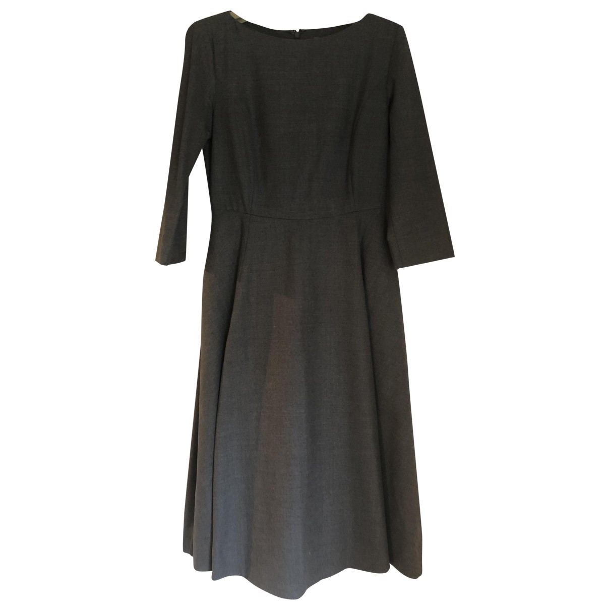 Cos \N Kleid in  Grau Wolle