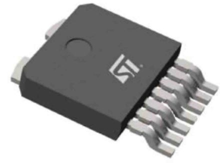 STMicroelectronics VN7003AHTR High Side MOSFET Power Driver, 38A 7-Pin, Octapak (2500)
