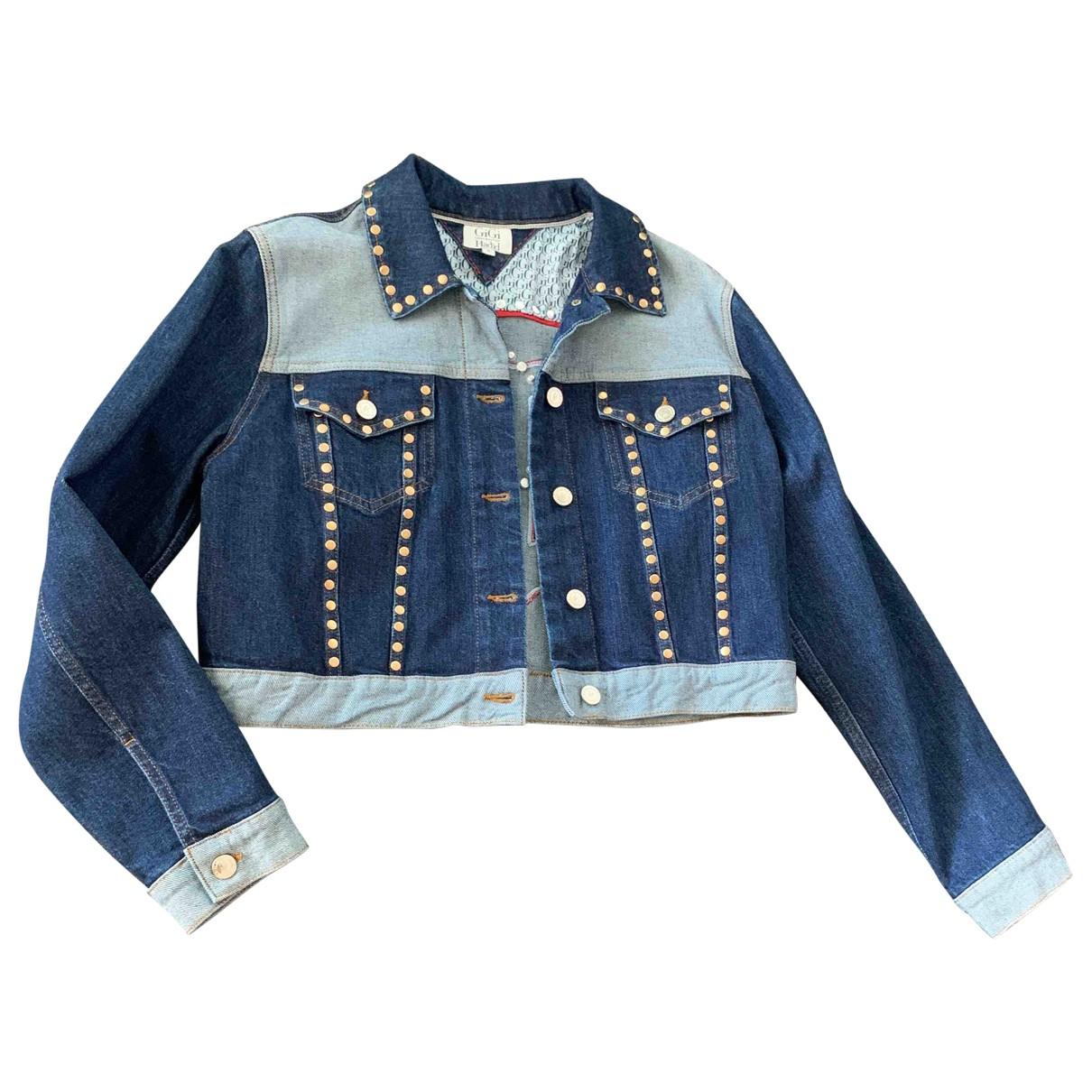 Gigi Hadid X Tommy Hilfiger \N Blue Denim - Jeans jacket for Women 6 US
