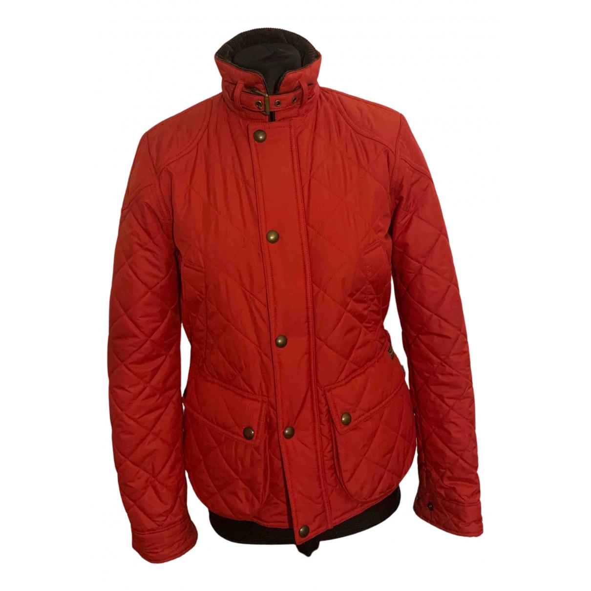 Polo Ralph Lauren - Manteau   pour femme - rouge