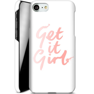 Apple iPhone 7 Smartphone Huelle - Get it Girl von caseable Designs