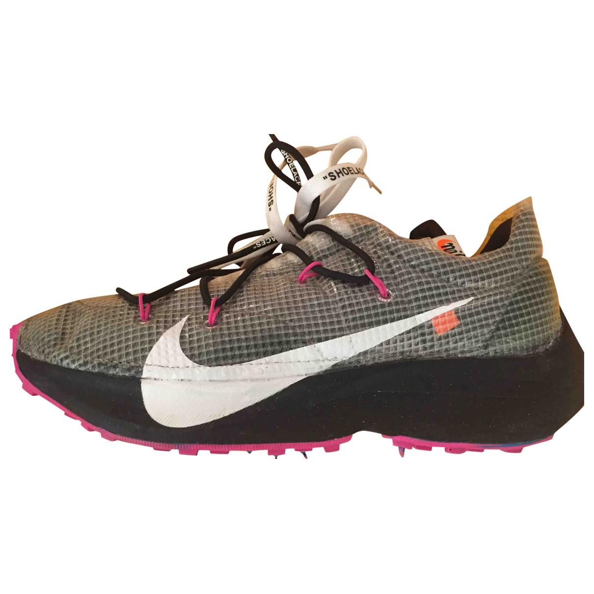 Nike X Off-white Vapor Street Sneakers in  Grau Kunststoff