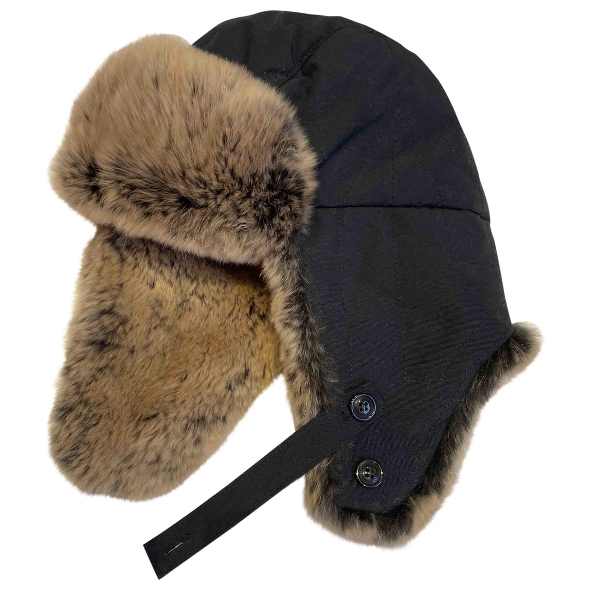 Woolrich - Chapeaux.Bonnets.Gants   pour enfant en lapin - bleu