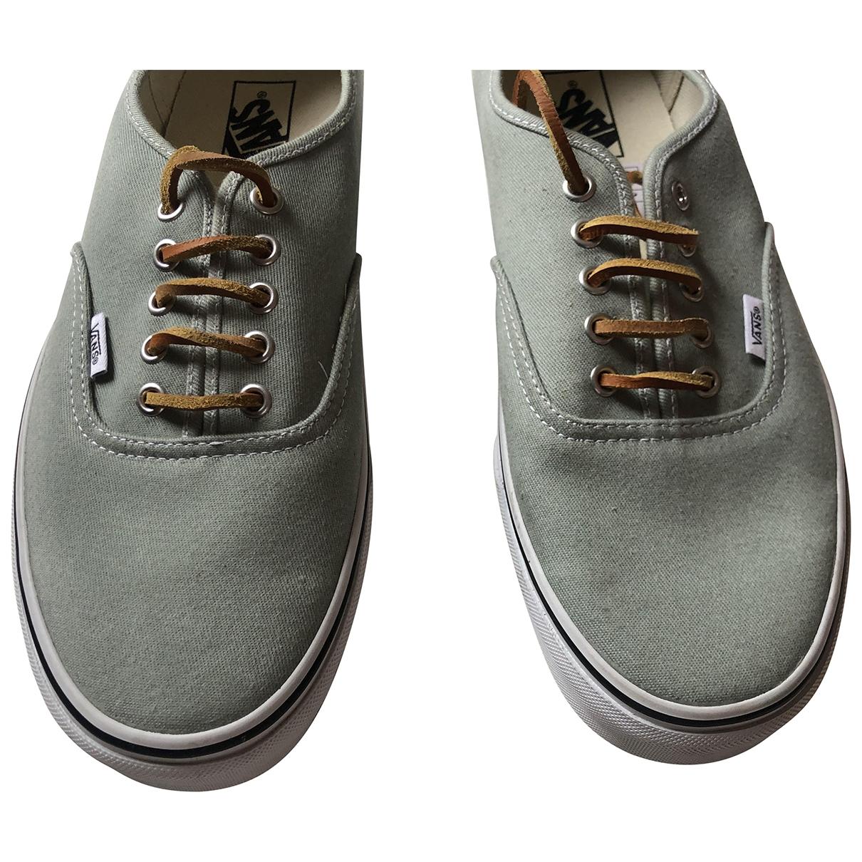 Vans - Baskets   pour homme en toile - gris