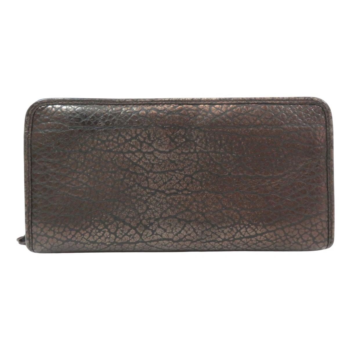 Loewe - Portefeuille   pour femme en cuir - noir