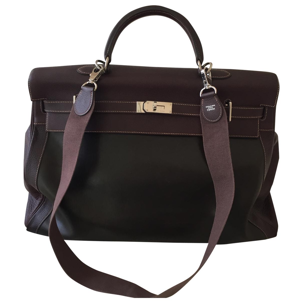 Hermès Kelly Voyage Leather Travel bag for Women \N