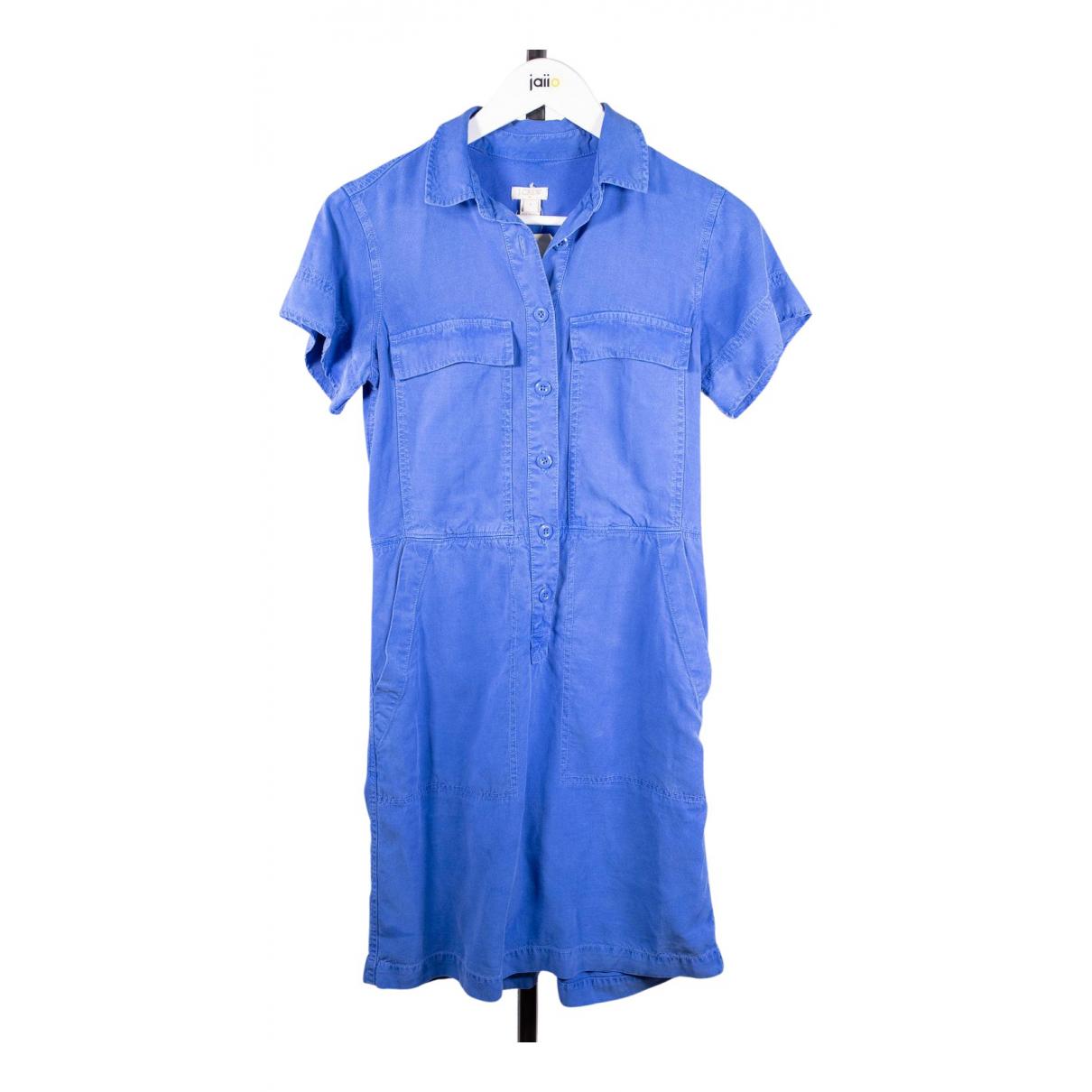 J.crew \N Kleid in  Blau Synthetik
