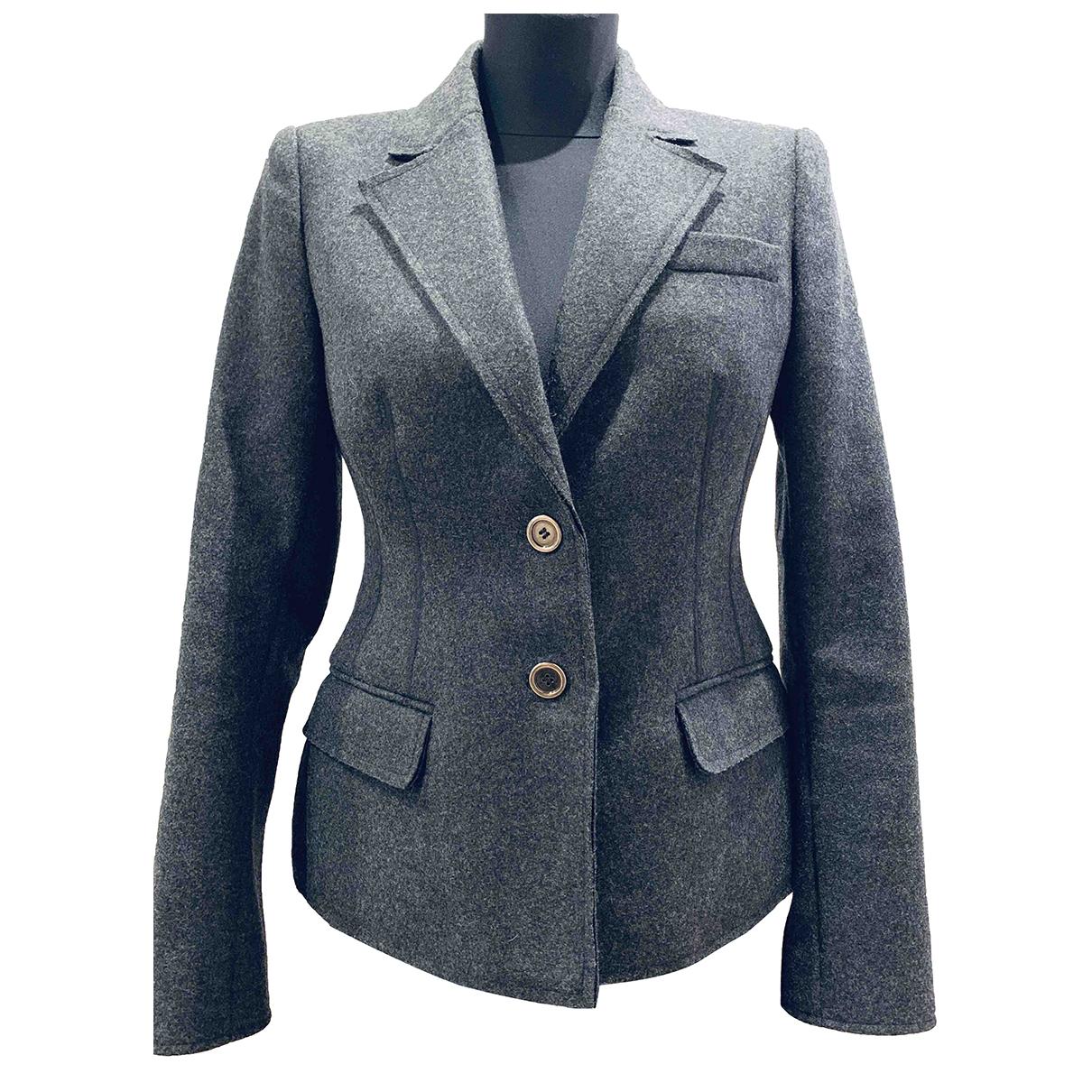 D&g \N Grey Wool jacket for Women M International