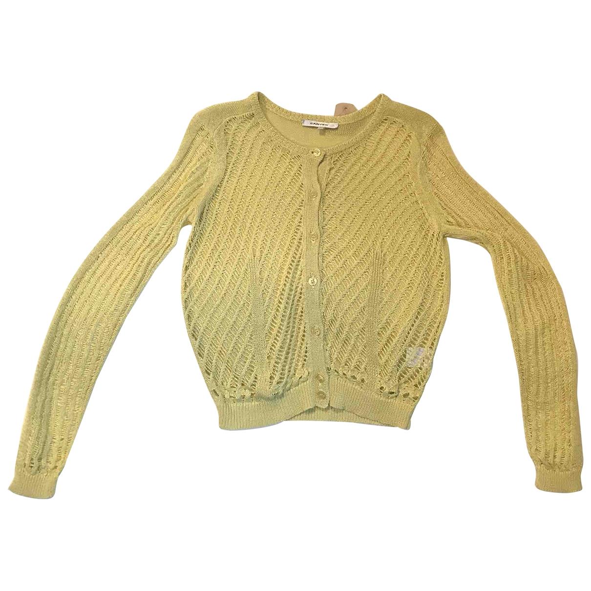 Carven \N Pullover in  Gelb Baumwolle