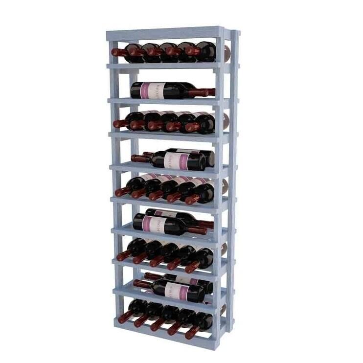 Winemaker Series Open Vertical Wine Display (Grey)