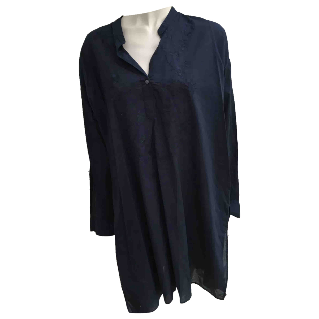 Uniqlo N Navy Cotton  top for Women XL International