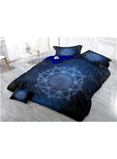 MedallionDigital Wear-resistant Breathable High Quality 60s Cotton 4-Piece 3D Bedding Sets