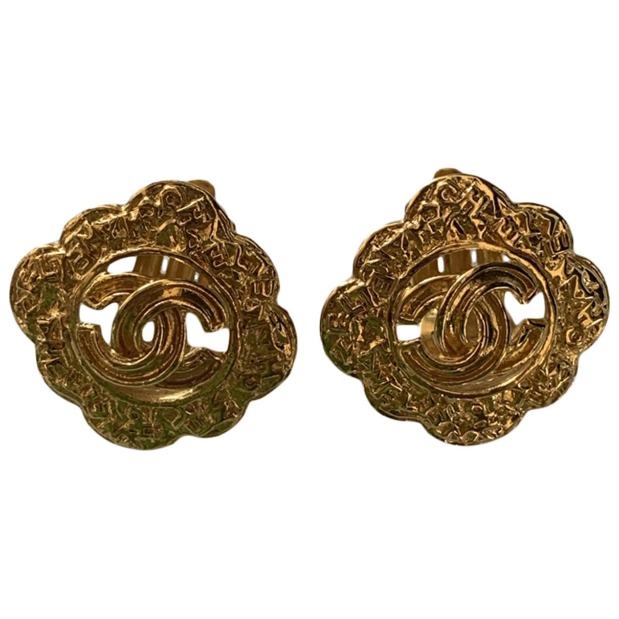 Chanel \N Gold Metal Earrings for Women \N