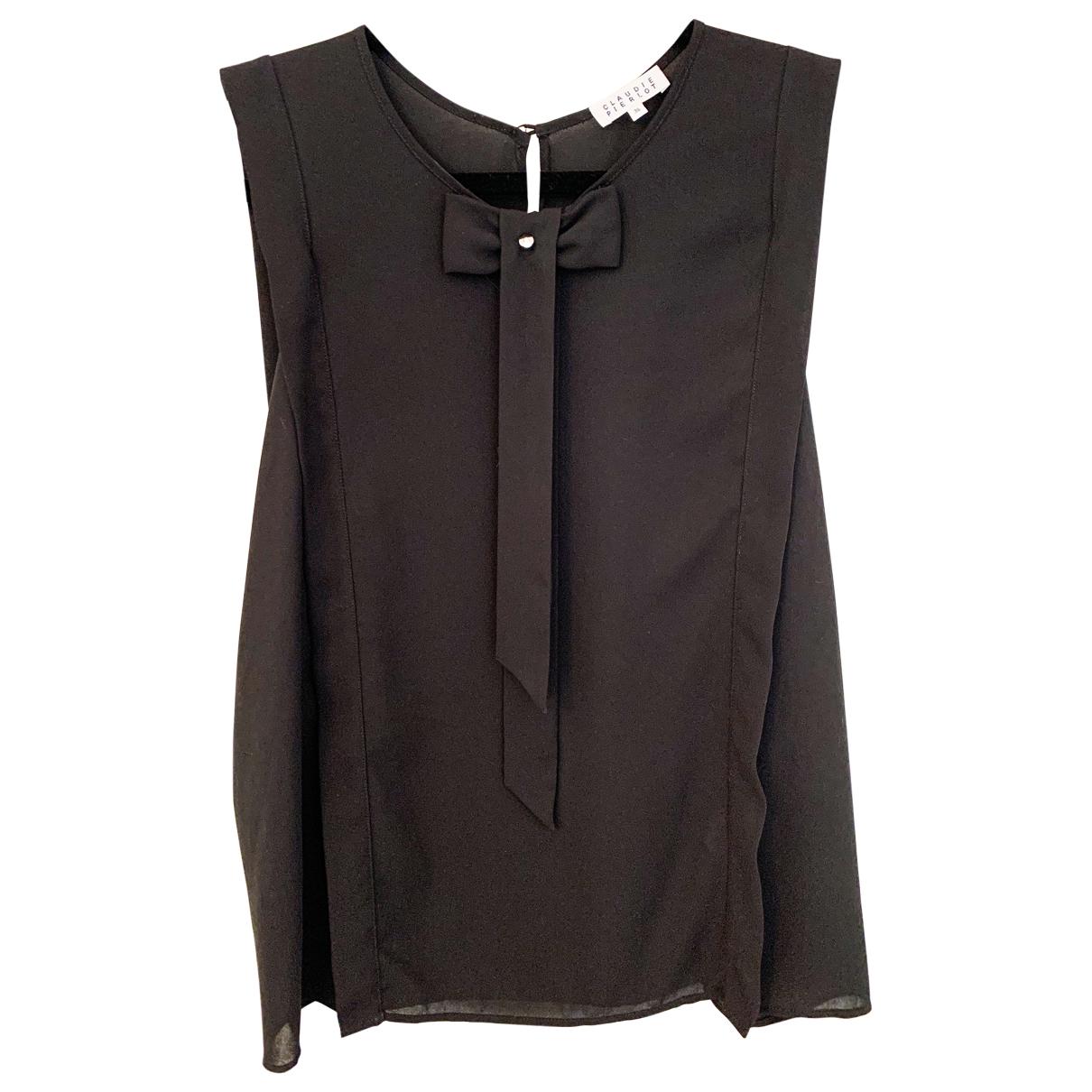Claudie Pierlot \N Top in  Schwarz Polyester