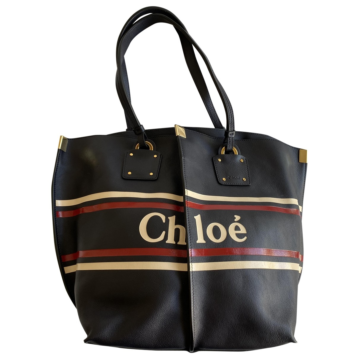 Chloé \N Navy Leather handbag for Women \N