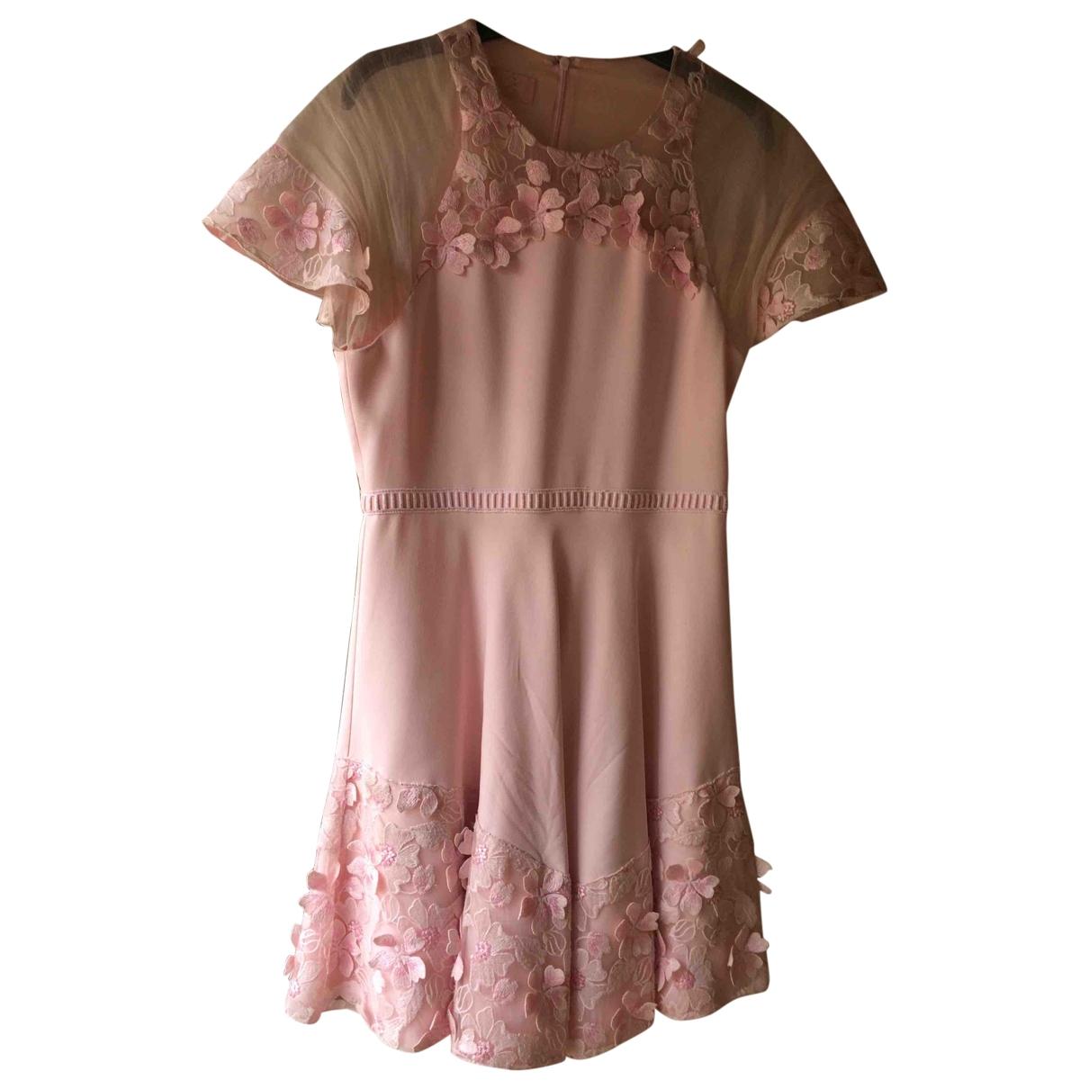 Giamba \N Kleid in  Rosa Viskose