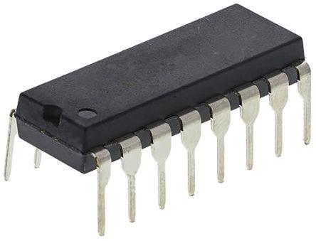 Texas Instruments SN74HCT138NE4, 1 Decoder & Demultiplexer, Decoder, Demultiplexer, 1-of-8, Inverting, 16-Pin PDIP (25)