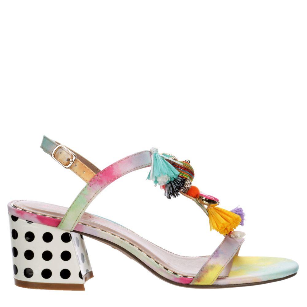 Betsey Johnson Womens Dynah Blockheel Sandals