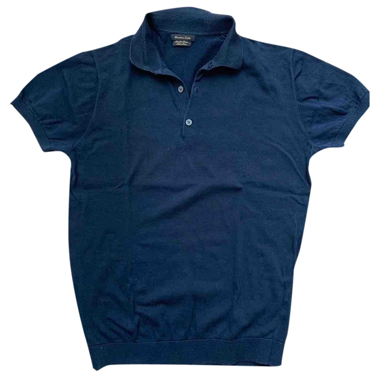 Massimo Dutti \N Blue Cotton Polo shirts for Men M International