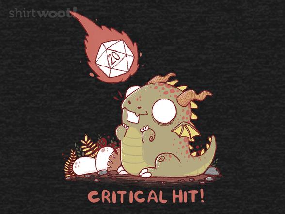 Cute Critical Hit T Shirt
