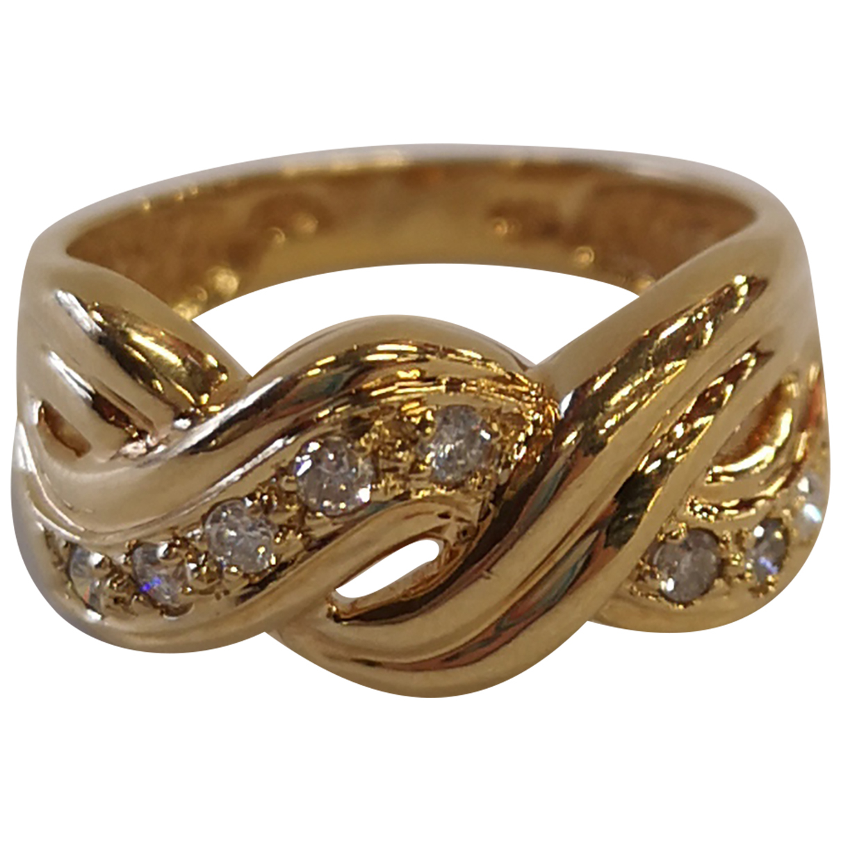 Non Signé / Unsigned N Yellow Yellow gold ring for Women 56 EU